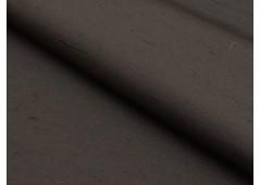 Toile de soie doupionnée noire