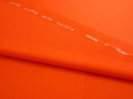 Pure laine Haute-Couture tangerine