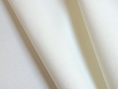 Double crêpe extensible blanc naturel