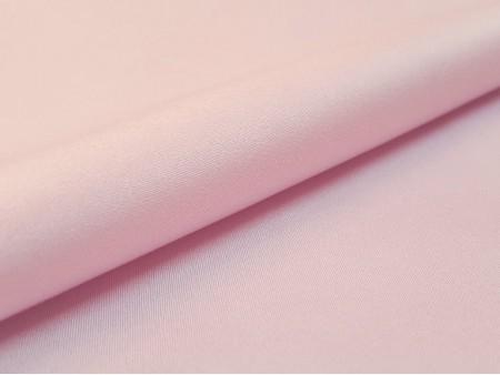 Satin de coton stretch rose pétale