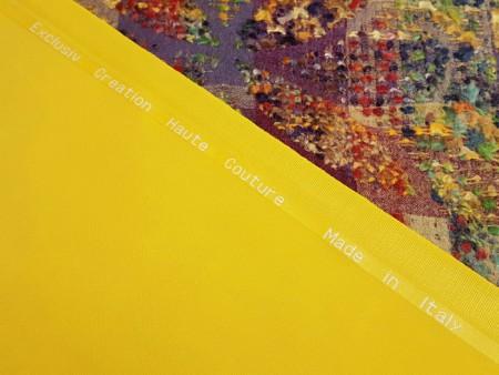 Pure laine Haute-Couture jaune