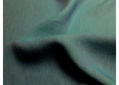 Toile de lin changeante bleu sarcelle