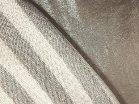Satin gris étain