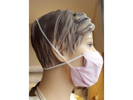 Masque enfant élastique croisé derrière la tête