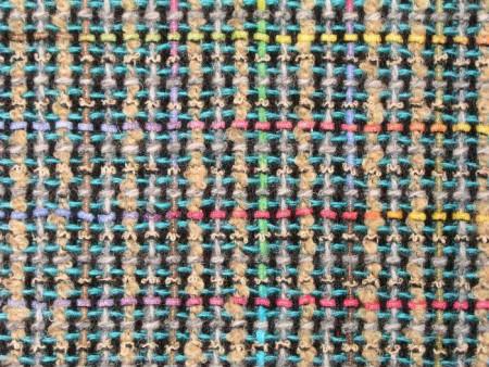Tweed de laine natté