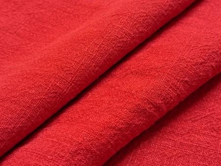 Lin lavé rouge