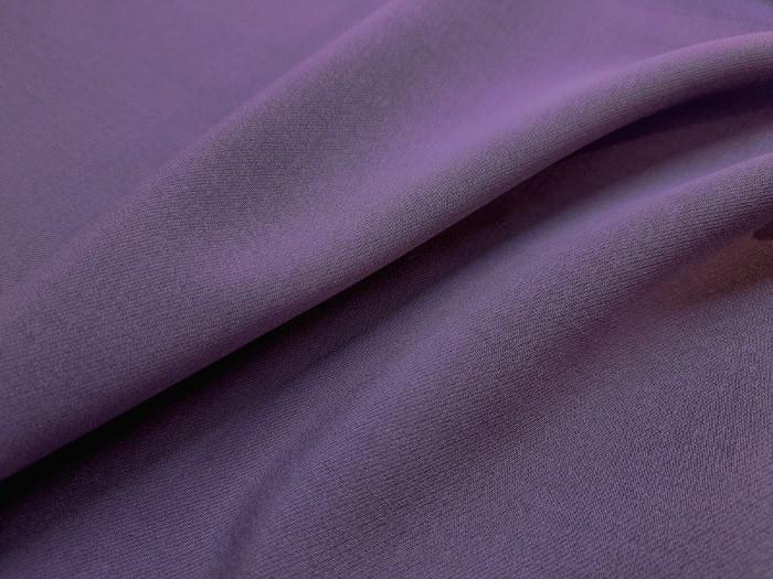 Faille de laine bleu améthyste