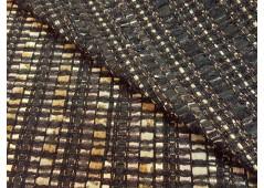 Tweed artisanal haute-couture noir
