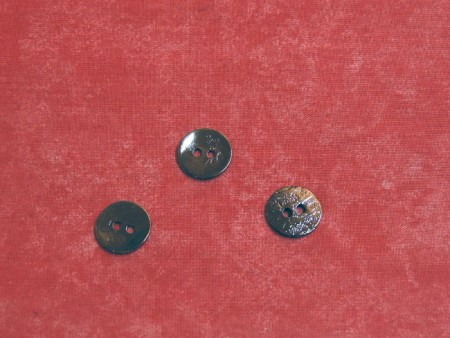 Bouton métal façon nacre 1.5cm