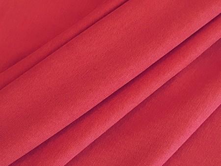 Jersey très fluide rouge incarnat