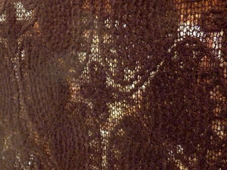 Maille feutrée noire