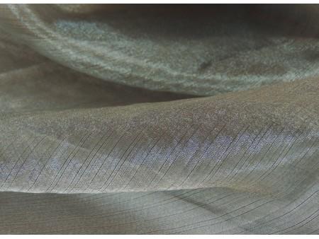 Organza cristal gris moyen