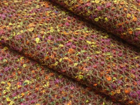 Tweed léger aux tons d'automne